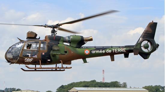 Sud-Aviation Gazelle. Многоцелевой вертолет. (Франция)