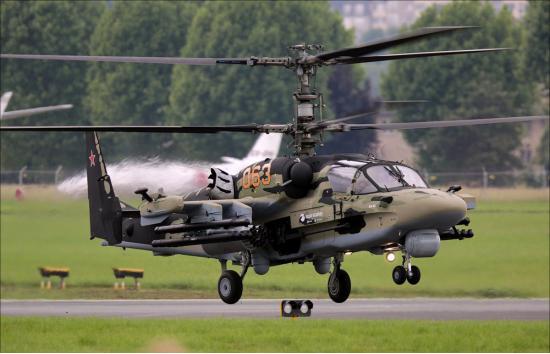 Ка-52 «Аллигатор». Ударный вертолет. (Россия)
