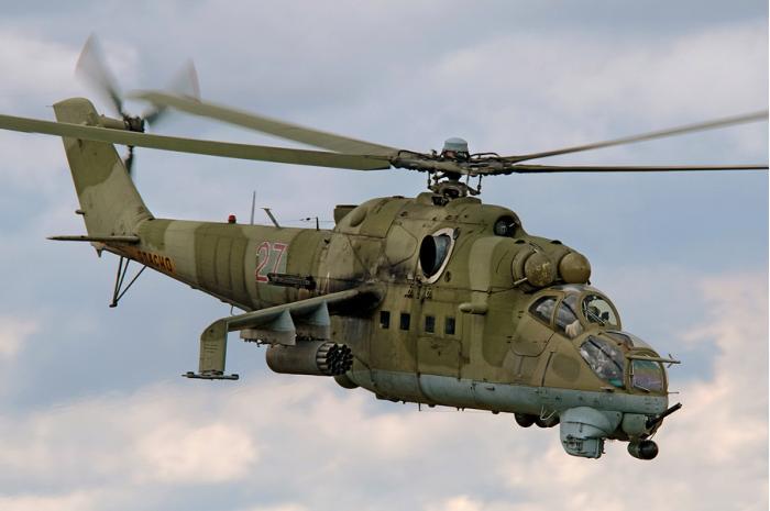 Ми-24. Ударный вертолет. (СССР-Россия)