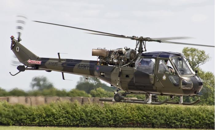 Westland «Scout». Многоцелевой вертолет. (Англия)