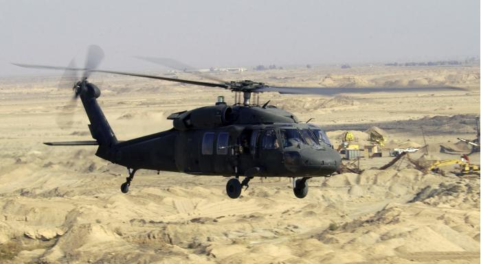 UH-60 Black Hawk. Многоцелевой вертолет. (США)