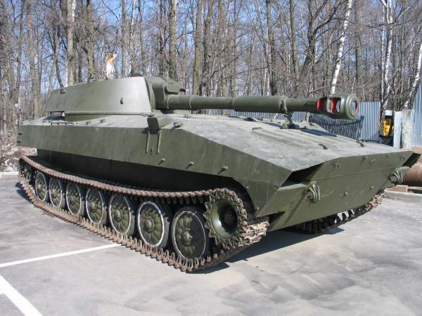 2С1 «Гвоздика». САУ. (СССР)