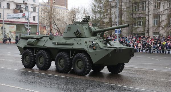 2С23 «Нона-СВК». САУ. (Россия)