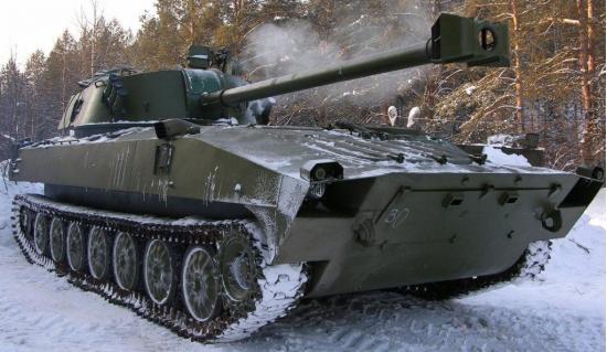 "2С34 ""Хоста"". САУ. (Россия)"