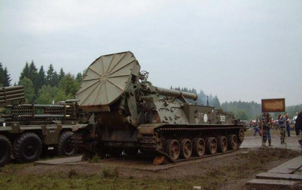 2С4 «Тюльпан». Самоходный миномет. (СССР)