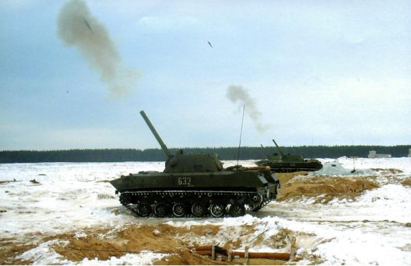 2С9 «Нона-С». САУ. (СССР-Россия)