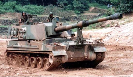 K9 Thunder. САУ. (Южная Корея)