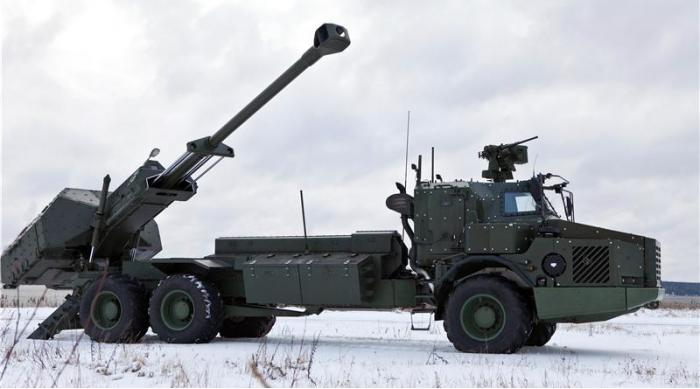 FH77 BW L52 Archer. САУ. (Швеция)