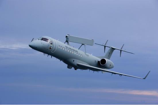 Embraer R-99. Самолет радиолокационного обнаружения. (Бразилия)