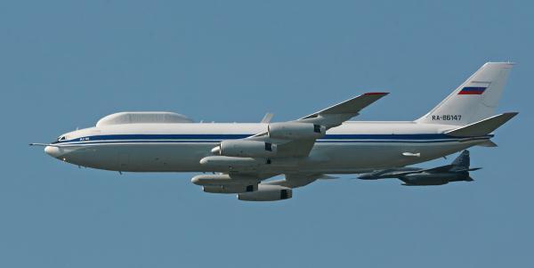 Ил-80. Воздушный командный пункт. (СССР-Россия)