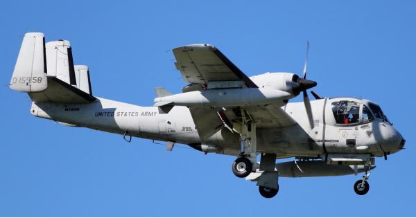 Grumman OV-1 Mohawk. Разведывательный самолет. (США)