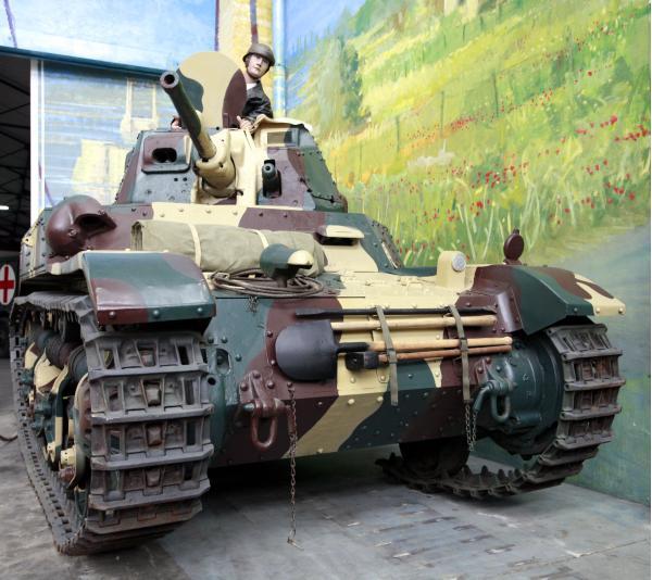 AMC 35. Легкий танк. (Франция)