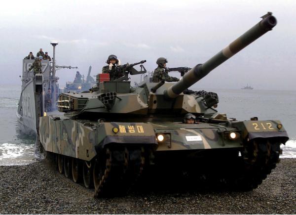 K1 (Тип 88). Основной боевой танк. (Южная Корея)
