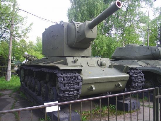 КВ-2. Тяжелый танк. (СССР)
