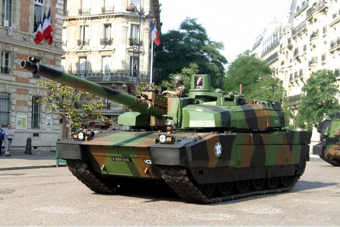 AMX-56 «Леклерк». Основной боевой танк. (Франция)