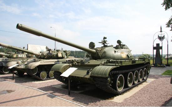 Т-55. Средний танк. (СССР)