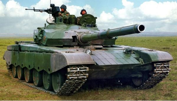 Type 99. Основной боевой танк. (Китай)