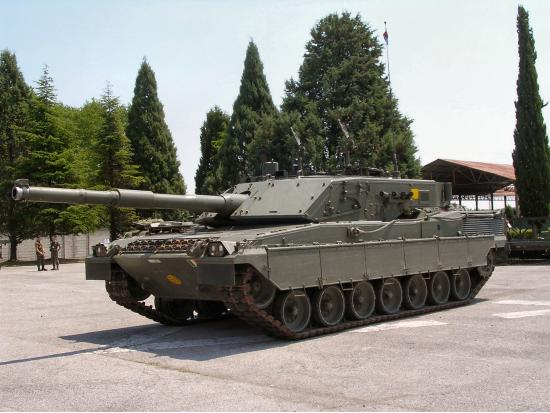 C1 Ariete. Основной боевой танк. (Италия)