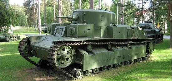 Т-28. Средний танк. (СССР)