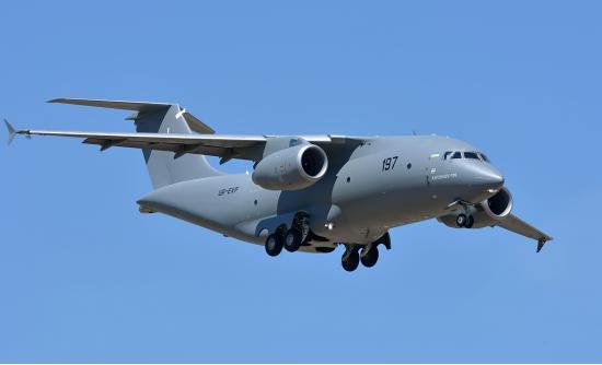 Ан-178. Военно-транспортный самолет. (Украина)