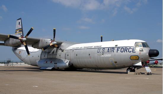 Douglas C-133 Cargomaster. Транспортный самолет. (США)
