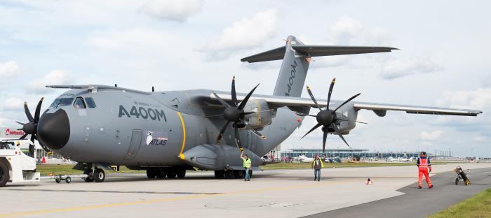Airbus A400M. Военно-транспортный самолет. (ЕС)