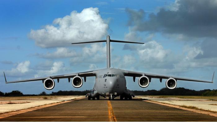 Boeing C-17 Globemaster III. Транспортный самолет. (США)