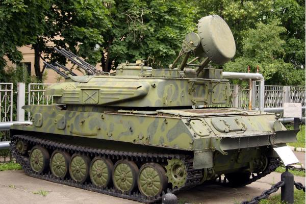 ЗСУ-23-4 «Шилка». Зенитная самоходная установка. (СССР-Россия)
