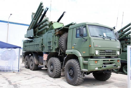 """""""Панцирь-С1"""". ЗРПК. (Россия)"""