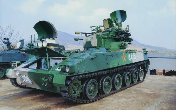 PGZ-95. ЗРПК. (Китай)
